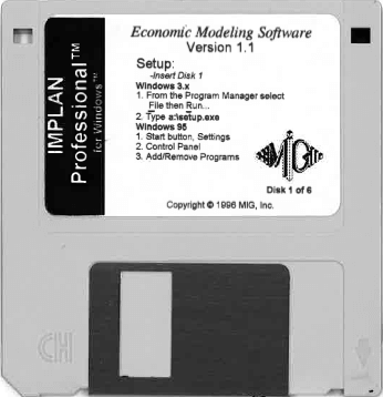 Economic Modeling Software Version 1.1 (1996)